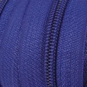 Reissverschluss 5 mm royalblau