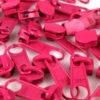 Schieber für 5 mm Reissverschluss pink