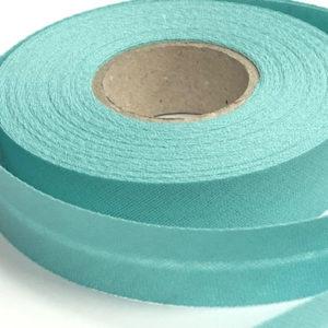 Baumwollschrägband uni mint