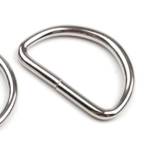 D-Ring 30mm / 40 mm - nickel
