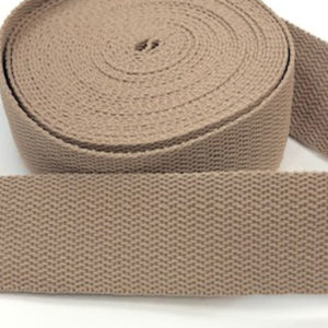Gurtband 30 mm - beige