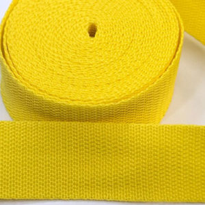 Gurtband 30 mm - gelb
