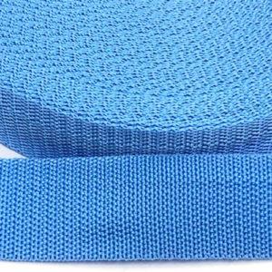 Gurtband 30 mm - hellblau