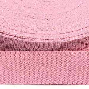 Gurtband 30 mm - rosa