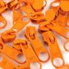 Schieber für 5 mm Reissverschluss - orange