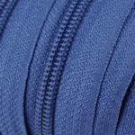 Reissverschluss 5 mm - saphirblau