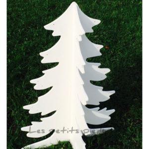 Adventskalender Holztannenbaum