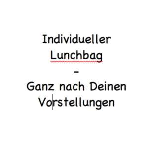 individueller lunchbag
