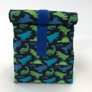 Lunch-/ Wetbag - Dinos blau
