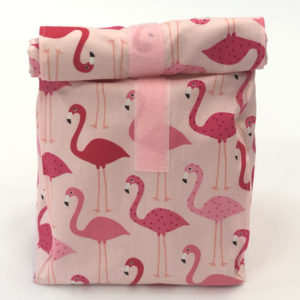 Lunch-/ Wetbag - Flamingor pink / rosa