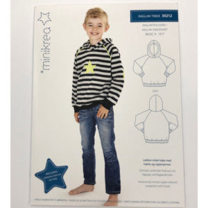Papierschnittmuster Raglansweatshirt - Minikrea 30212