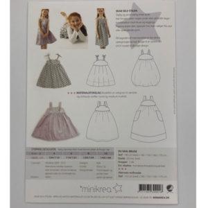 Papierschnittmuster Trägerkleid - Minikrea 30001