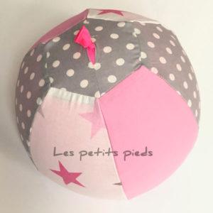 Ballonhülle rosa / grau