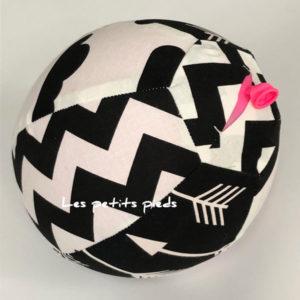 Ballonhülle schwarz / weiss