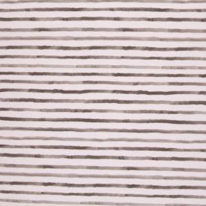 "Jersey Baumwolle - ""ocean breeze"" - Streifen weiss / beige"
