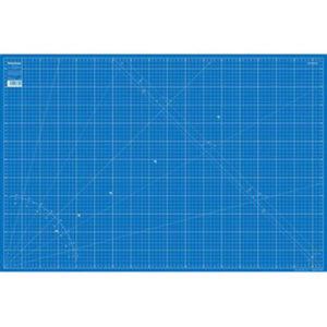 Schneideunterlage 60x 90 cm blau