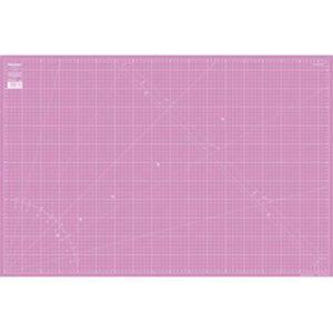 Schneideunterlage 60x 90 cm pink