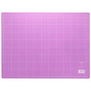 Schneideunterlage 45 x 60 cm pink