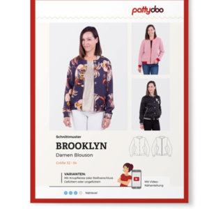 """Papierschnittmuster Blouson """"Brooklyn"""" Damen Gr 32-54 - Pattydoo"""