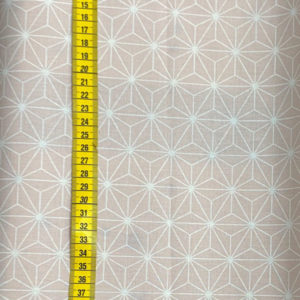 beschichtete Baumwolle - geometrische Sterne rosa