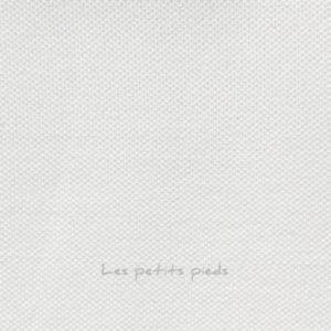 Jersey Baumwolle - Piqué - weiss
