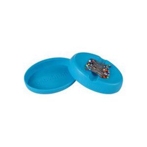 Magnet Nadelkissen inkl Stecknadeln - blau