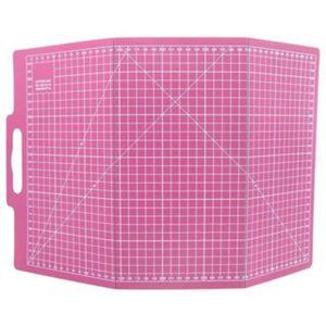 Schneidematte faltbar 30X45 cm pink