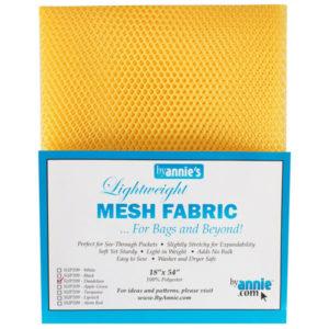 Mesh Fabric Taschennetz - gelb