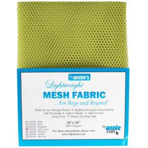 Mesh Fabric Taschennetz - hellgrün