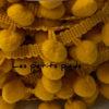 Bommelborte - senf 10 mm