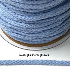Baumwollkordel 6 mm - hellblau