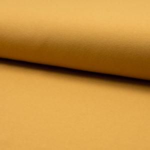 Jersey Baumwolle - uni senf