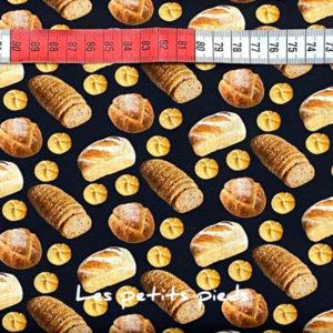 Baumwolle - Brot schwarz / braun