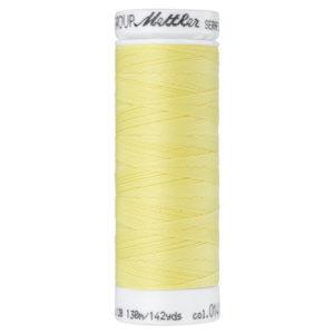 Mettler Seraflex elastisches Garn 130 m - hellgelb 0141