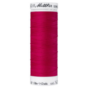 Mettler Seraflex elastisches Garn 130 m - dunkelpink 1421