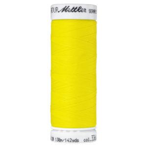 Mettler Seraflex elastisches Garn 130 m - gelb 3361