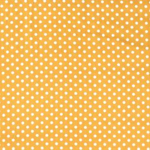 Baumwolle - Punkte ocker