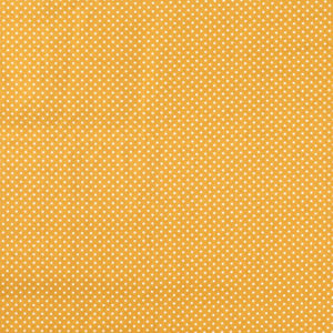 Baumwolle - Minipunkte ocker