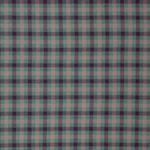 Jacquardjersey Plaid by Käselotti - mint / violet