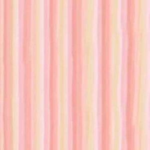 """Sommersweat """"Zuckerstreifen"""" Lillestoff - apricot / rosa"""