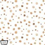 Baumwolle - Tupfen- Michael Miller - zimt