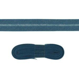 Baumwollschrägband uni jeans