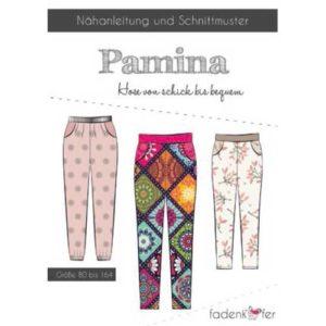 Papierschnittmuster Hose Pamina Gr. 80 - 164 - Fadenkäfer