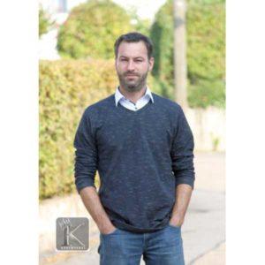 Papierschnittmuster Basic Pullover Herren Gr 2XS - 4 XL - Fadenkäfer