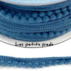 Bommelborte - jeans 6 mm