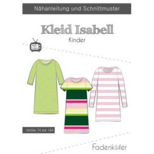Papierschnittmuster Kleid Isabell Gr. 74 - 164 - Fadenkäfer