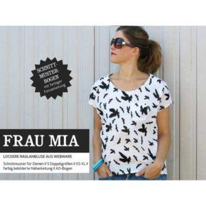 "Papierschnittmuster ""Frau Mia"" Bluse Gr 146- 48 - Studio Schnittreif"