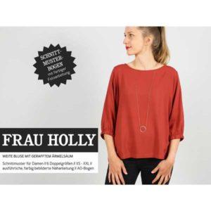 """Papierschnittmuster """"Frau Holly"""" weite Bluse Gr 146- 48 - Studio Schnittreif"""