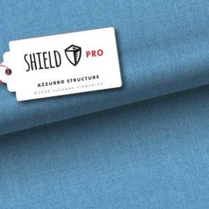 "Shield Pro Albstoffe ""Structure"" Hamburger Liebe - azzuro"