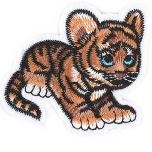 Applikation / Patch - aufbügelbar - Tiger